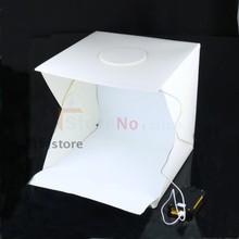 30cm Portable Folding Studio Diffuse Soft Box With LED Light Background Photo Studio box Big Size For DSLR Camera