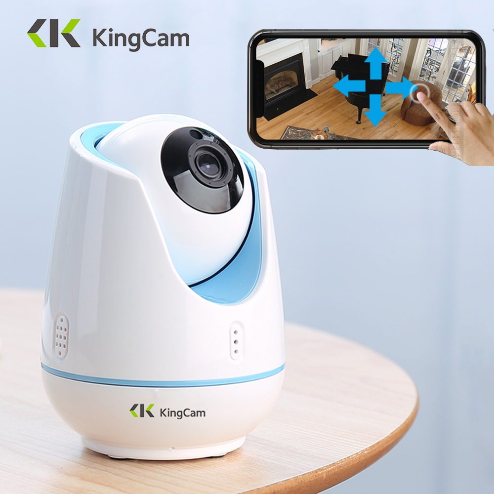 KingCam 1080P Wifi Baby Monitor Wireless 2 Way Audio Smart Camera With Motion Detection Security Radiation free IP Camera