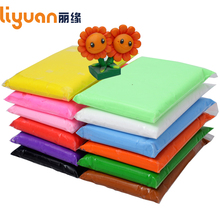 Liyuan Air Dry Light Clay 12 colors Intelligent Plasticine Colored Polymer Kids Slime Toys 1200g/42.32oz