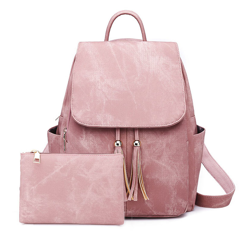 2018 Brand Women Backpack School Backpack For Girls Fashion PU Leather Female Backpack School Bags High Quality New Shoulder Bag 2017 new fashion women backpack pu leather girls school bag women casual style shoulder bag backpack for girls backpack