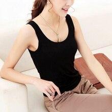 Camisetas sin mangas informales para mujer, camiseta sin mangas, camiseta de verano con cuello redondo, 1 unidad