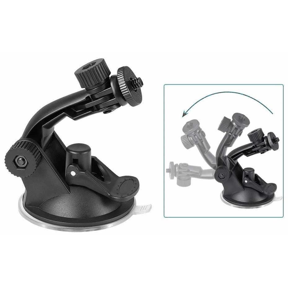 Soporte de trípode de cámara de acción de copa de succión de cristal para el coche soporte de registro para gopro hero 7 6 5 yi2 Accesorios