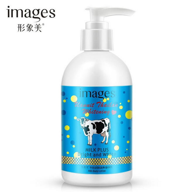 Images milk Moisturizing body lotion 250ml Hydrating Nourish oil control body care body whitening cream