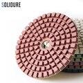 10 дюймов 250 мм влажные Алмазные полировальные колодки для полировки поверхности каменных плит