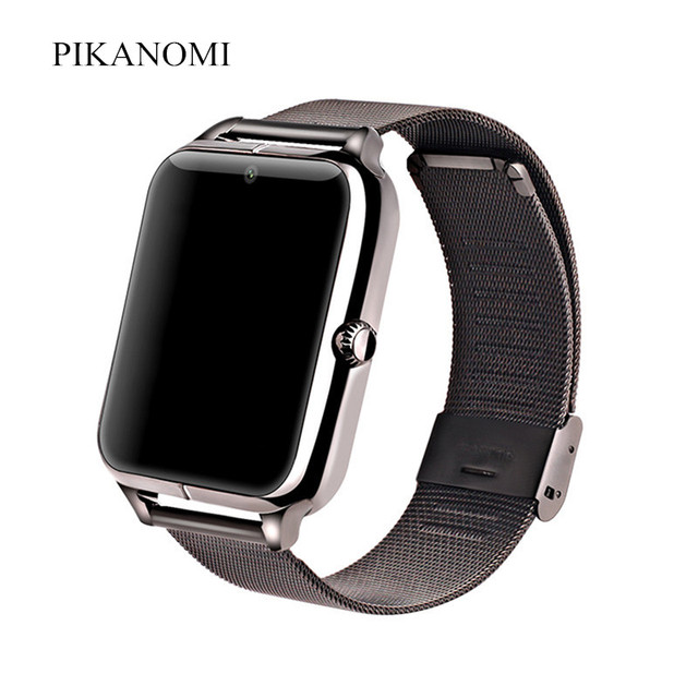 b28510c84 Smart Watch GT08 Plus Metal Strap Bluetooth Wrist Smartwatch Support Sim SD  Card Android IOS Watch With Multi-lingual VS A1 DZ09