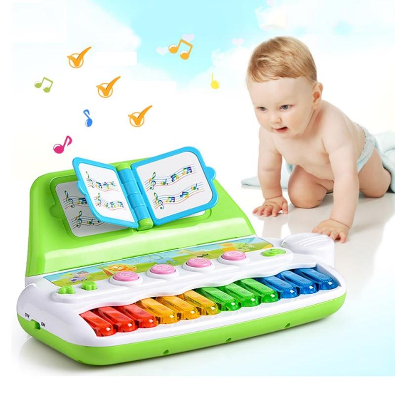 Jouets pour enfants bébé Instrument de Piano Musical jouets Piano électrique bébé début d'apprentissage éducatif multi-fonction jouet de loisirs électronique
