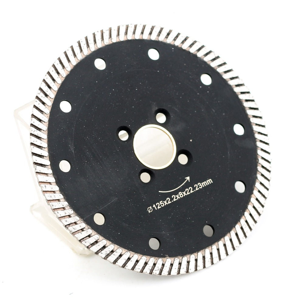 Free Shipping DC-CRTB03 Premium Quality 125mm 5 Inch Diamond Cutting Blade For Granite And Marble