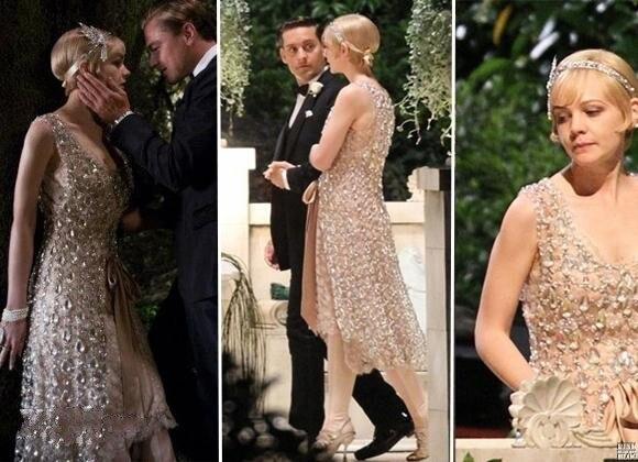 Luxuxbling Sparkle Hot die Große Gatsby Kleider V ausschnitt tee ...