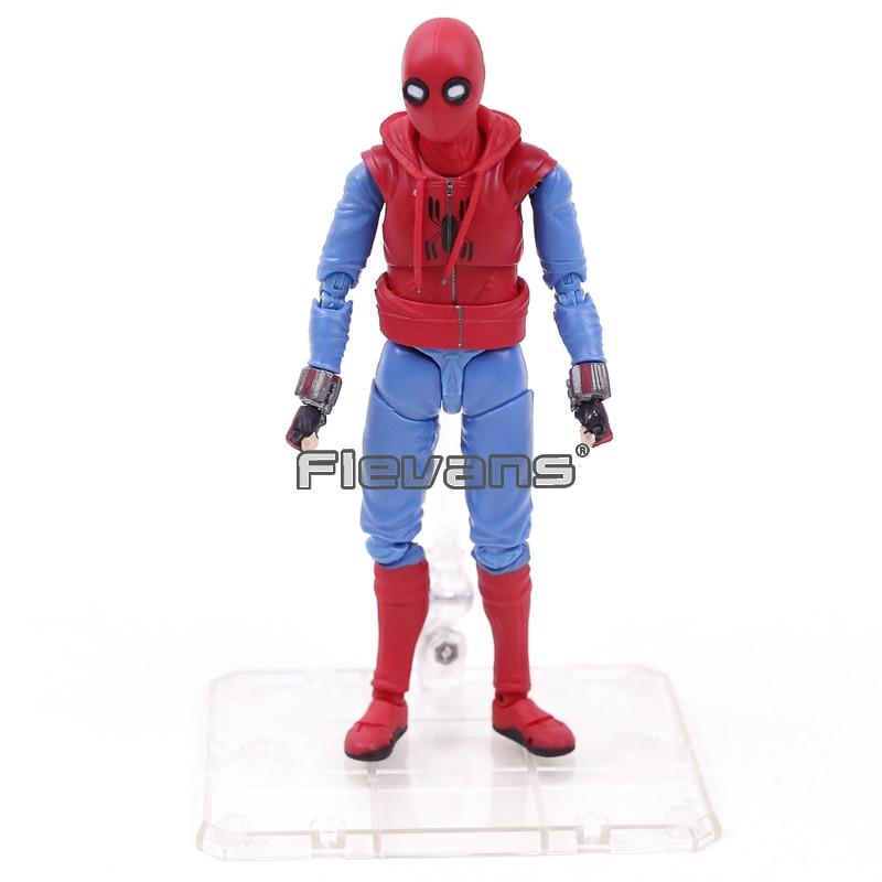 Человек-паук выпускников СВЧ S. H. Figuarts Человек-паук домашний костюм Ver. ПВХ фигурк ...
