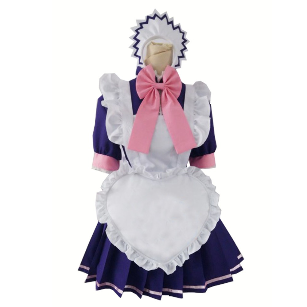 2017 tokyo mew mew zakuro fujiwara maid cosplay costume as christmas costume and halloween costume5 colors