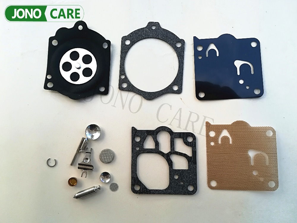 K12-WG Walbro Overhaul Gasket Carburetor Kit WG 6 7 8 9 10 for Husqvarna 3120 3120xp Chainsaw parts 272 268 MS660 high quality carburetor carb carby for husqvarna partner 350 351 370 371 420 chainsaw poulan spare parts walbro 33 29