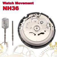 High Accuracy NH36 Mechanical Watch Movement Repair Replacement Accessories