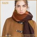 2016 Hot cachecol moda inverno cachecol xales e de marca famosa xadrez grosso cachecol para mulheres