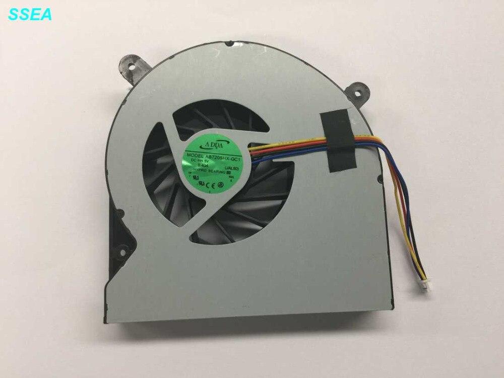 SSEA New laptop GPU fan for Asus G750 G750JW G750J  GPU cooling Fan 14mm thick