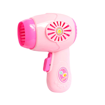 2017 New Arrival Wholesale-Electric Toys Series High Simulation Mini Play Small Home Appliance of Hair Dryer home appliance