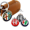 Металл 3D для ALFA ROMEO Автомобилей Брелок Брелок Auto Key Chain Ring YOWO