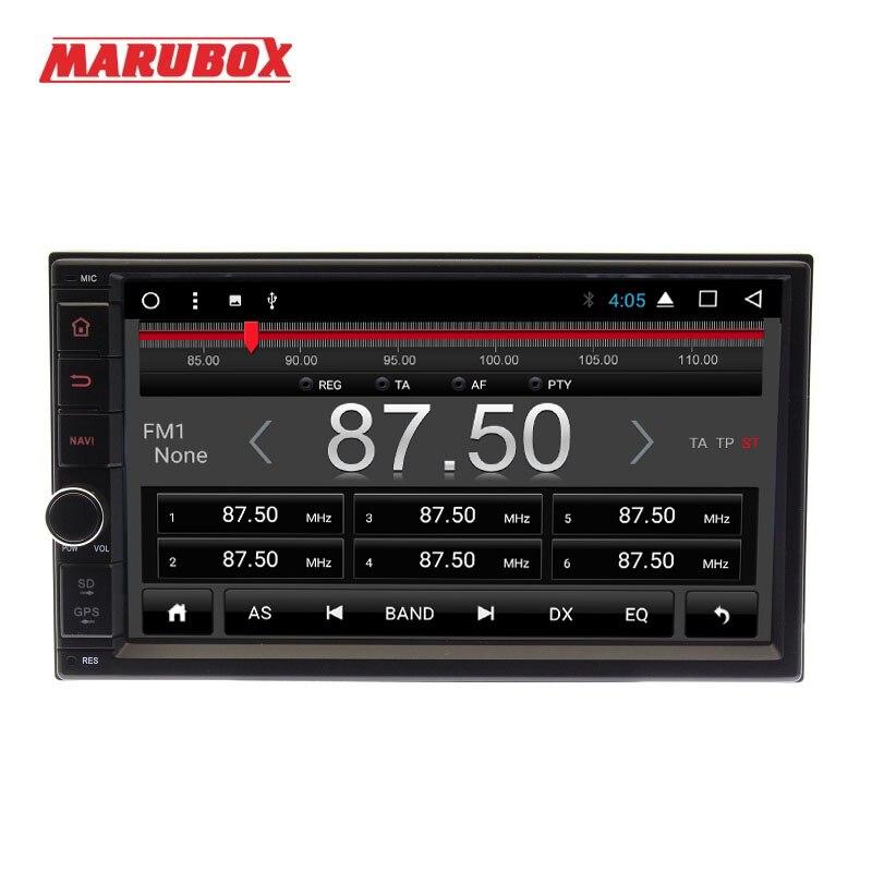 """MARUBOX ユニバーサル 2Din アンドロイド 8 カーマルチメディアプレーヤー 7 """"タッチ Sreen GPS ナビゲーション Bluetooth ステレオラジオインテリジェントシステム  グループ上の 自動車 &バイク からの 車用マルチメディアプレーヤー の中 2"""