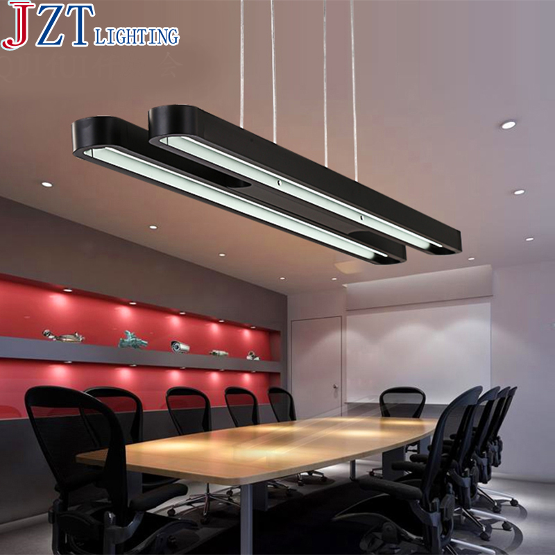 Z LED Office Lighting 120*18*4cm Modern Minimalist Conference Room Restaurant Creative Study Rounded Rectangle Aluminum L&s-in Pendant Lights from Lights ... & Z LED Office Lighting 120*18*4cm Modern Minimalist Conference Room ... azcodes.com
