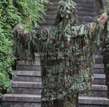 Ultralight Military Jacket and Pants Strip Type Sniper Ghillie Suit Camouflage 3D single Hunting Combat Ghillie Suit clothing