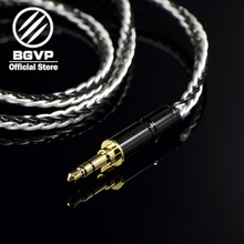 BGVP 6N 600 core earphones Hybrid cable 2.5mm 3.5mm 4.4mm DIY MMCX interchangeable Hifi Headphone upgrade DM6