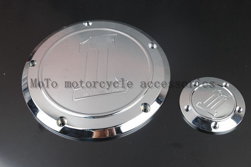 Freeshipping Hot sale Chrome Derby & Timing Timer Cover Covers For Harley Softail Dyna FLHRS FLTFB Road King Timing Timer Cover motorcycle parts crow cross heart engine derby timing timer cover cnc beveled for harley road king softail dyna flhrs fltfb