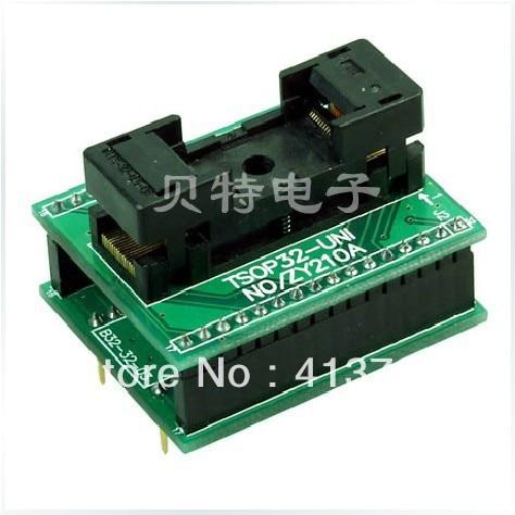 SmartPRO TSOP32 DIP32 ZY210A X5/X8 IC burn test block sop32 ucos smartpro x5 x8 burn zy332a test socket adapter