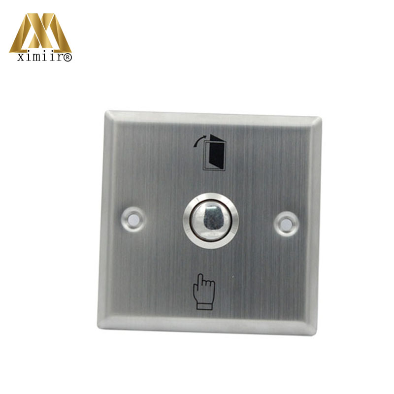 10pcs E04 Stainless Steel Button With Finger Push Button For Access Control System Door Lock Switch Door Release Button Agreeable To Taste