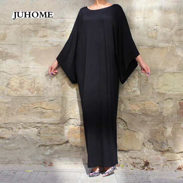 Plus size 3XL 4XL 5XL 6XL runway long maxi dress 2018 women high quality LOOSE vestidos femininos black gray blue robe femme hot