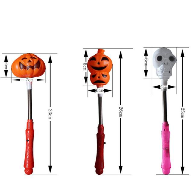 Hot led light pumpkin skeleton bar devil festival halloween lamp hot led light pumpkin skeleton bar devil festival halloween lamp holder stick bar professional factory price aloadofball