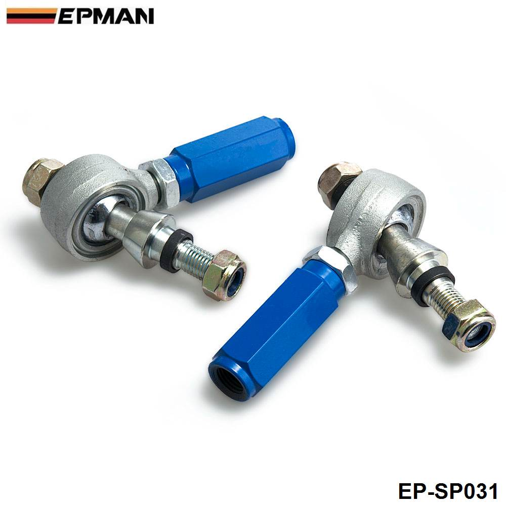 Rear Suspension Adjustable Outer Tie Rod End Links For Nissan 240SX ...