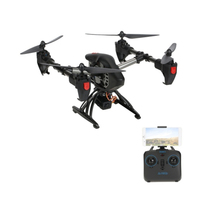2.4G profesional drone Dengan WIFI FPV HD Camera Real time rc drone terus sikap JY011 Racing Selfie Drone RTF RC quadcopter