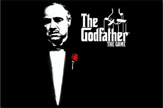 Free shipping custom god father poster bedroom decor fashion wall sticker well design the godfather god