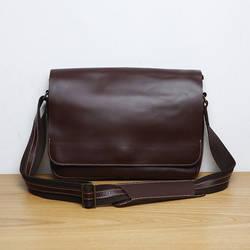 LAN Мужская кожаная сумка через плечо один сумка модные лаконичные кожаная сумка