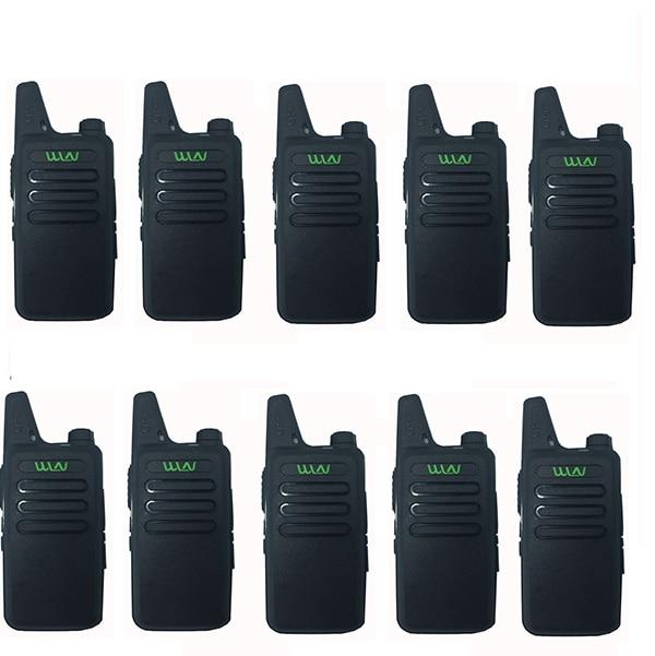 10 sztuk WLN KD C1 Mini szynki Two Way Radio Walkie Talkie FM Ham radio transceiver hf 5 W długi zakres lepiej niż baofeng BF 888S UHF P w Krótkofalówki od Telefony komórkowe i telekomunikacja na AliExpress - 11.11_Double 11Singles' Day 1