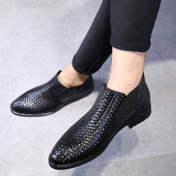 2018 New Men Loafers Moccasins Italian Shoes for Men Flat Shoes luxury Brand Braid Leather Casual Driving Oxfords Shoes qffaz men shoes luxury brand genuine leather casual driving oxfords shoes men loafers moccasins italian shoes for men flats