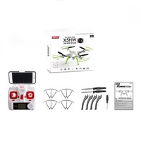 SYMA X5HW Drone With Camera HD Wifi FPV Selfie Drones Drone Quadrocopter RC Helicopter Quadcopter RC Dron Toy (X5SW Upgrade) hi