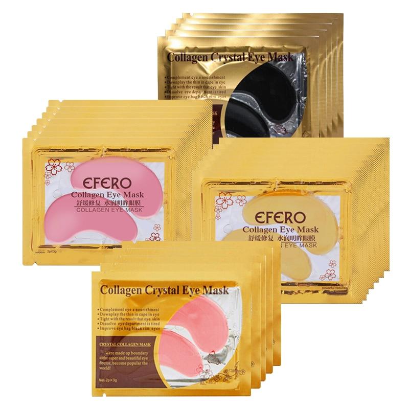 20st = 10pack EFERO Crystal Collagen Eye Mask Eye Patches för - Hudvård - Foto 6