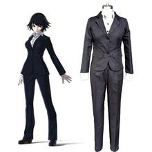Ajin Demi-Humanos Shimomura Izumi Cosplay Traje Adulto de la Mujer Señora de la Oficina Traje de Negocios Formal Traje Anime Cosplay Traje De Carrera