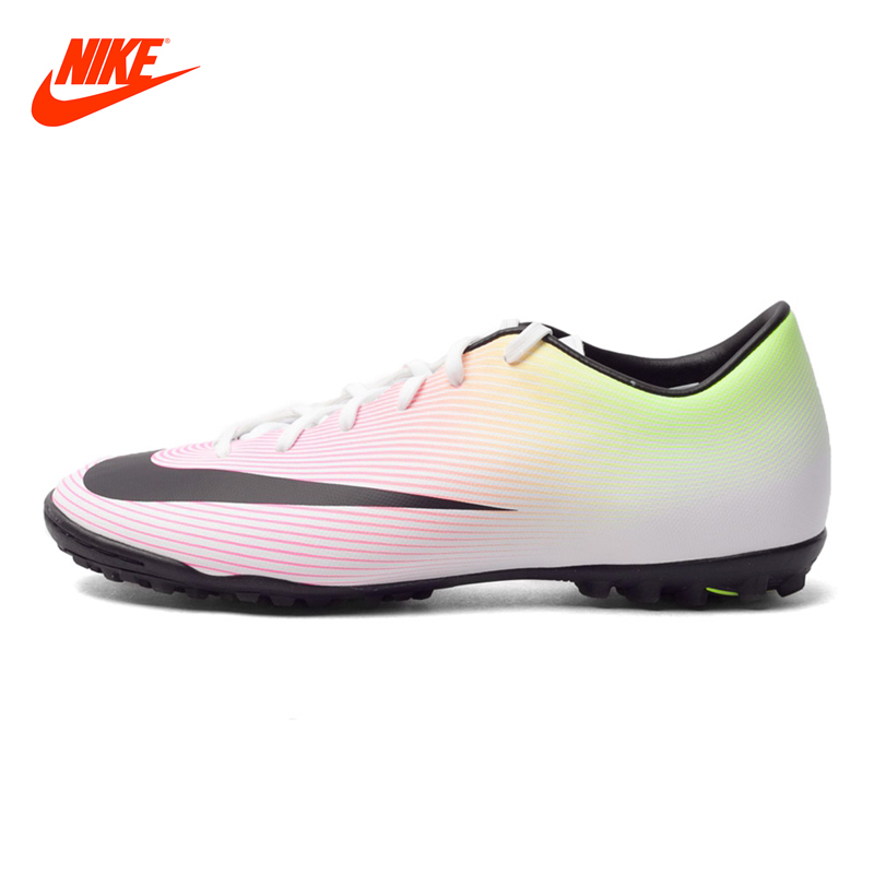 Original New Arrival NIKE MERCURIAL VICTORY V TF Men's Light Comfortable Soccer Shoes Football Sneakers бутсы nike mercurial victory tf 10 651646 800