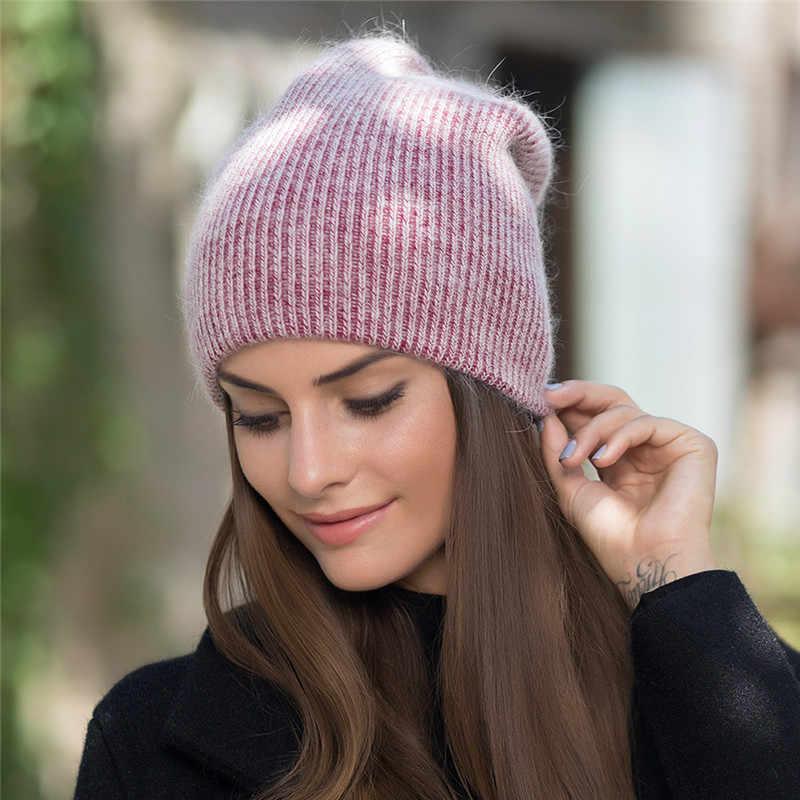 Xthree novo simples coelho pele gorro chapéu para as mulheres inverno chapéu para crianças skullies quente gravidade falls gorros boné feminino