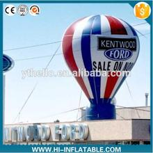 4m big size inflatable balloon/cold air roof top balloon for advertisement