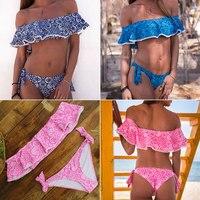 Bikinis cintura alta y baja estampados