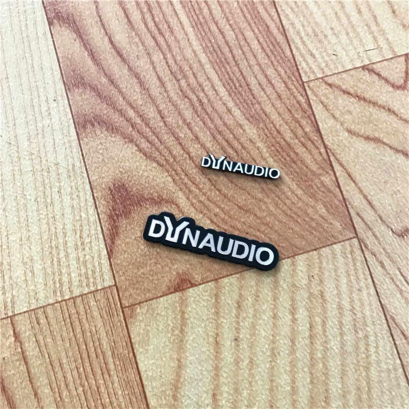 10X DYNAUDIO スピーカーアルミ 3D ステッカートランペットホーンサウンド文字のステッカー車のスタイリングフォルクスワーゲン VW CC ニュービートル