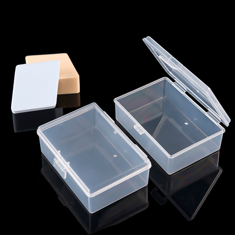Case Storage-Box Jewelry Clear-Display Multipurpose Transparent Plastic Household 4-Sizes