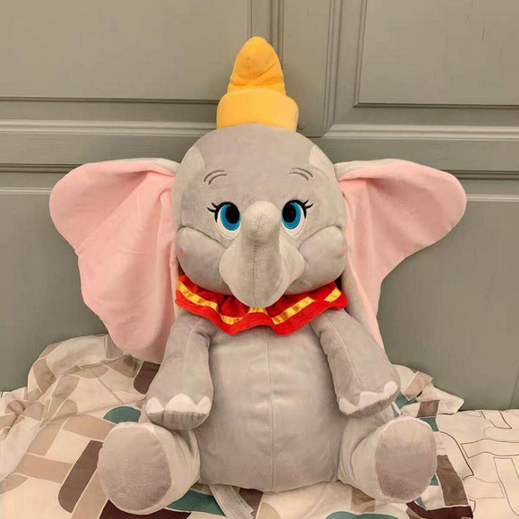 Stuffed Baby Elephant Dumbo Toys 30CM Soft Plush Pet Doll For Children Home Cushion Cotton Toys 2019 Cartoon Disney Movie Dumbo