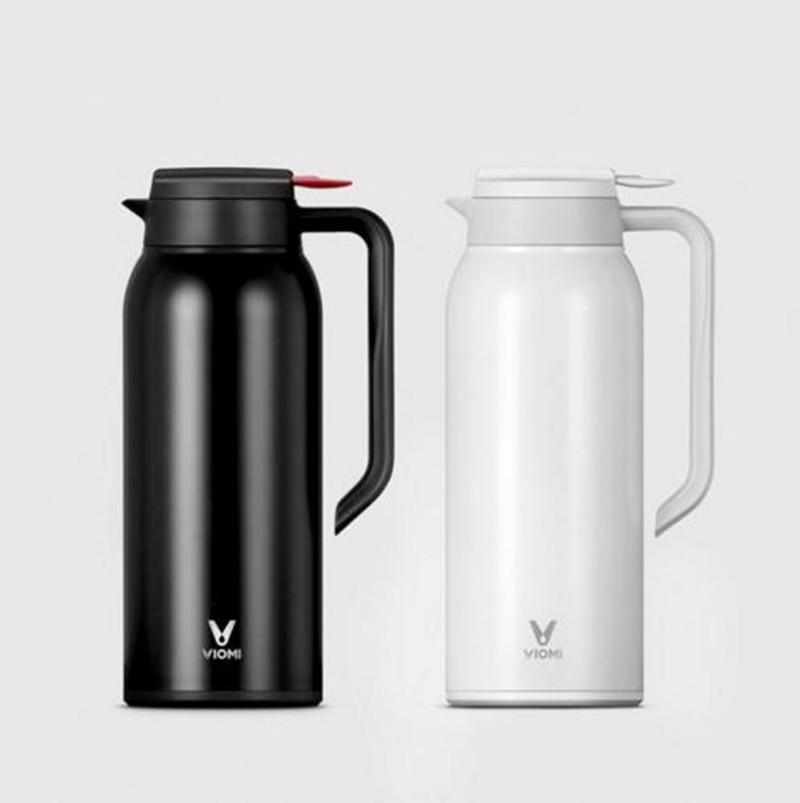 Xiaomi Mi Mijia VIOMI 1.5 L Kettle Thermos Cups Stainless Steel Vacuum 24 Hours Flask Water Smart Bottle Thermos Single 1 5l big capacity xiaomi viomi stainless steel bottle thermos water vacuum bottle cup flask pot 24h keep warm for home office