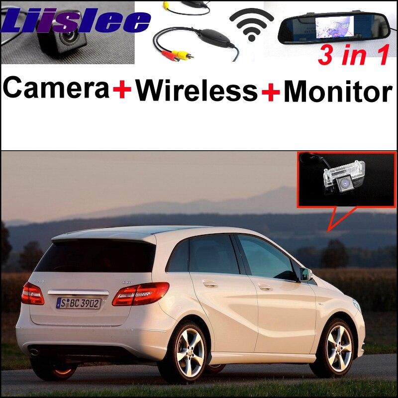 Pour Mercedes Benz MB B classe W246 B180 B200 B220 B250 caméra WiFi spéciale + récepteur sans fil + miroir moniteur système de stationnement