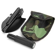 Multi-function Military Style Portable Folding Camping Shovel