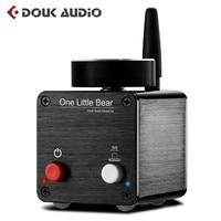 Nobsound Latest Hi Fi Little Bear G5 Mini Bluetooth Digital Amplifier Audio Power Amplifier Stereo 50W*2 With Power Supply