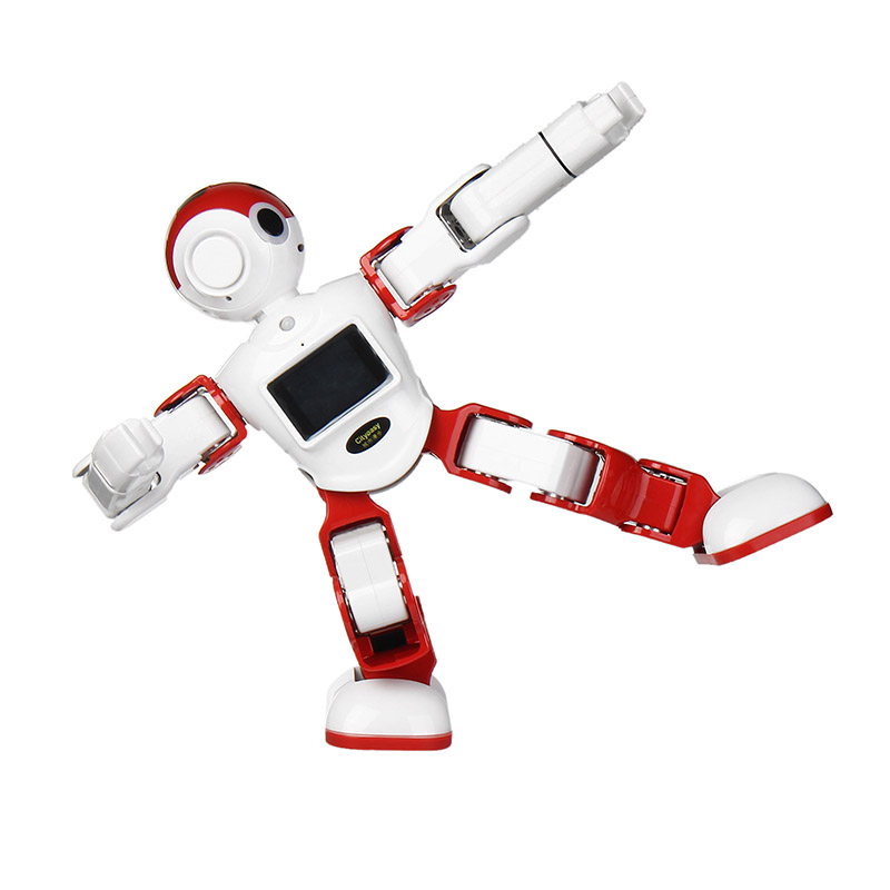 LEORY Voice Control Robot Intelligent Humanoid Robot Can Programming Software APP Control Security Video Call Child Education